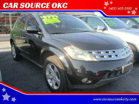 2004 Nissan Murano for sale at CAR SOURCE OKC in Oklahoma City OK