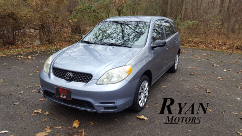 2003 Toyota Matrix for sale at Ryan Motors LLC in Warsaw IN
