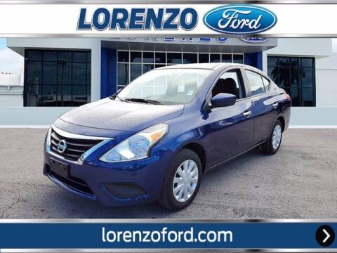 2019 Nissan Versa for sale at Lorenzo Ford in Homestead FL