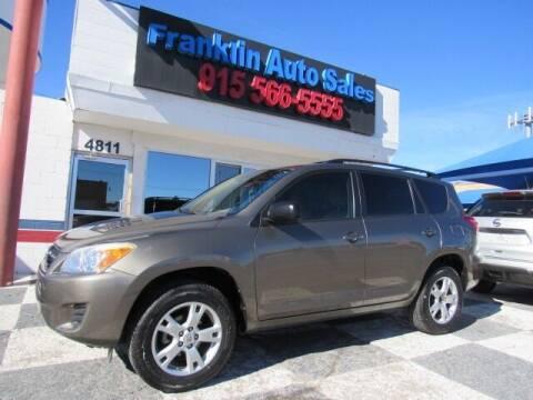 2011 Toyota RAV4 for sale at Franklin Auto Sales in El Paso TX