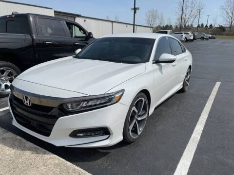 2018 Honda Accord for sale at MIG Chrysler Dodge Jeep Ram in Bellefontaine OH