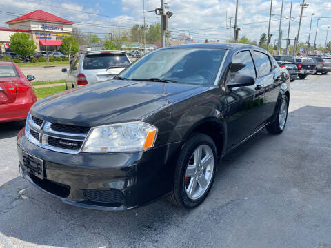 2012 Dodge Avenger for sale at Martins Auto Sales in Shelbyville KY