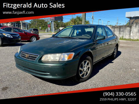2000 Toyota Camry for sale at Fitzgerald Auto Sales in Jacksonville FL