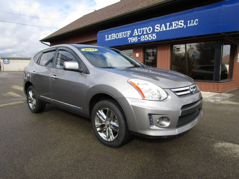 2011 Nissan Rogue for sale at LeBoeuf Auto Sales in Waterford PA