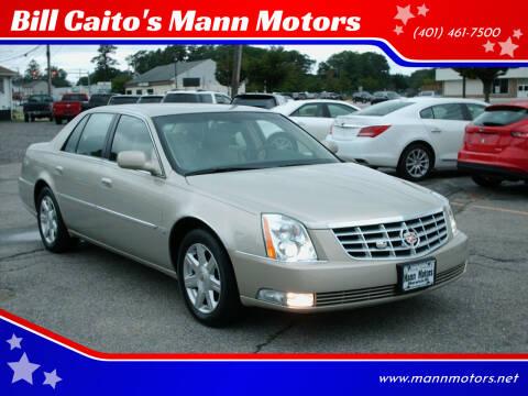 2007 Cadillac DTS for sale at Bill Caito's Mann Motors in Warwick RI