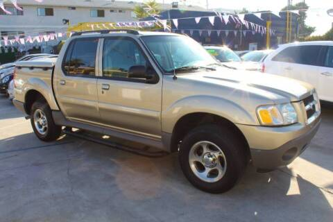 2003 Ford Explorer Sport Trac for sale at Good Vibes Auto Sales in North Hollywood CA