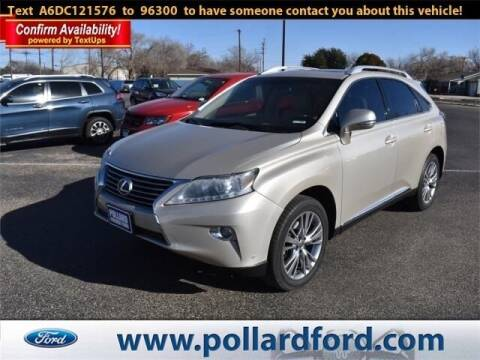 2013 Lexus RX 350 for sale at South Plains Autoplex by RANDY BUCHANAN in Lubbock TX