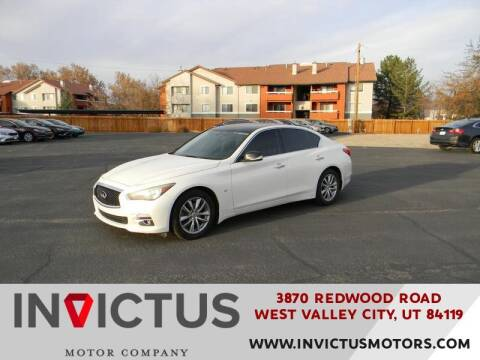 2014 Infiniti Q50 for sale at INVICTUS MOTOR COMPANY in West Valley City UT