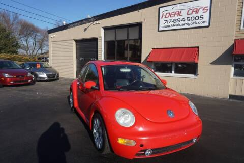 2003 Volkswagen New Beetle for sale at I-Deal Cars LLC in York PA