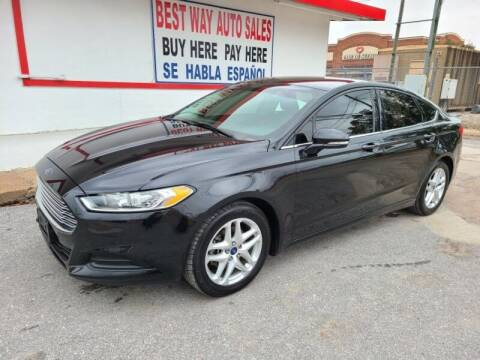 2015 Ford Fusion for sale at Best Way Auto Sales II in Houston TX