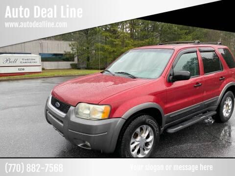 2003 Ford Escape for sale at Auto Deal Line in Alpharetta GA