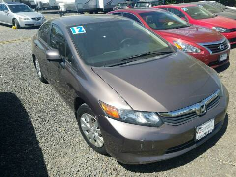 2012 Honda Civic for sale at Universal Auto INC in Salem OR