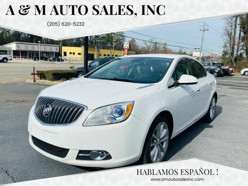 2014 Buick Verano for sale at A & M Auto Sales, Inc in Alabaster AL