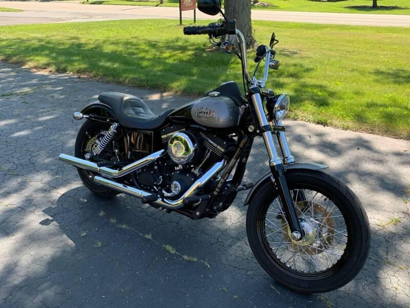 Harley Davidson Street Bob for sale at Dittmar Auto Dealer LLC in Dayton OH