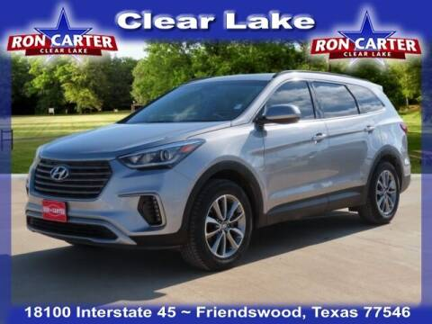 2019 Hyundai Santa Fe XL for sale at Ron Carter  Clear Lake Used Cars in Houston TX
