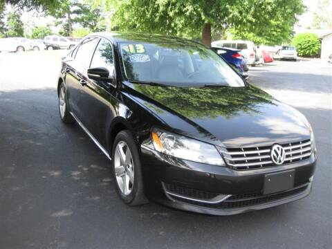 2013 Volkswagen Passat for sale at Euro Asian Cars in Knoxville TN