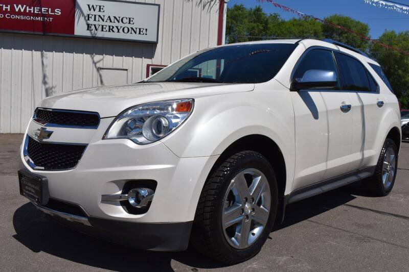 2014 Chevrolet Equinox for sale at Dealswithwheels in Inver Grove Heights MN