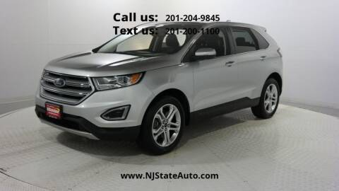 2017 Ford Edge for sale at NJ State Auto Used Cars in Jersey City NJ