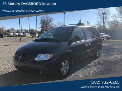 2007 Dodge Grand Caravan for sale at ES Motors-DAGSBORO location in Dagsboro DE