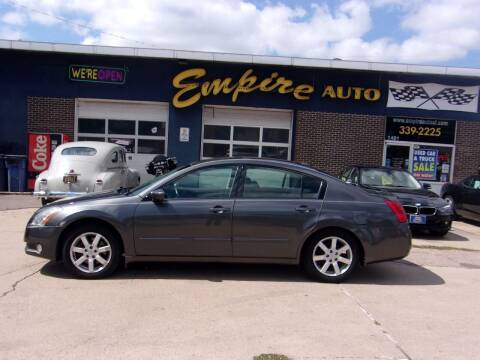 2006 Nissan Maxima for sale at Empire Auto Sales in Sioux Falls SD