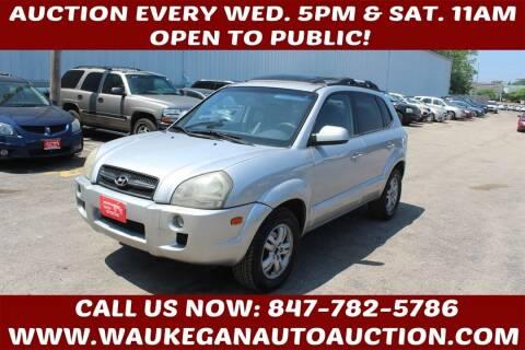 2008 Hyundai Tucson for sale at Waukegan Auto Auction in Waukegan IL