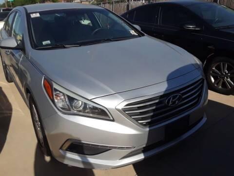 2015 Hyundai Sonata for sale at Auto Haus Imports in Grand Prairie TX