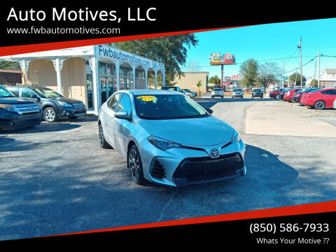 2017 Toyota Corolla for sale at Auto Motives, LLC in Fort Walton Beach FL