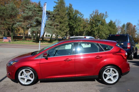 2013 Ford Focus for sale at GEG Automotive in Gilbertsville PA