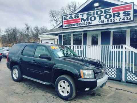 2009 Chevrolet Tahoe for sale at EASTSIDE MOTORS in Tulsa OK