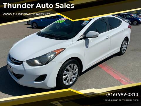 2011 Hyundai Elantra for sale at Thunder Auto Sales in Sacramento CA