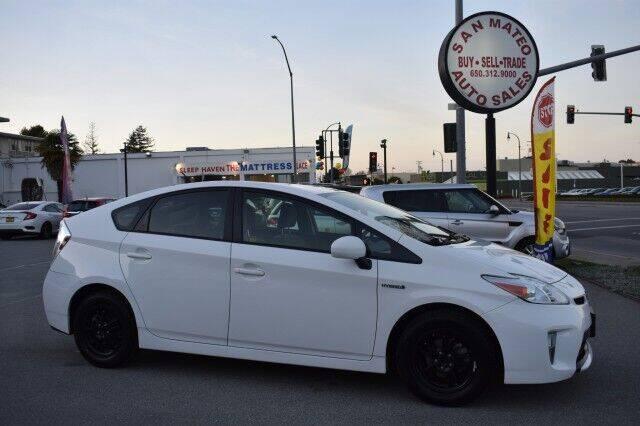 2015 Toyota Prius for sale at San Mateo Auto Sales in San Mateo CA