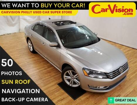 2014 Volkswagen Passat for sale at Car Vision Mitsubishi Norristown - Car Vision Philly Used Car SuperStore in Philadelphia PA