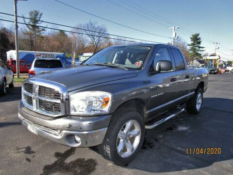 2007 Dodge Ram Pickup 1500 for sale at Route 12 Auto Sales in Leominster MA