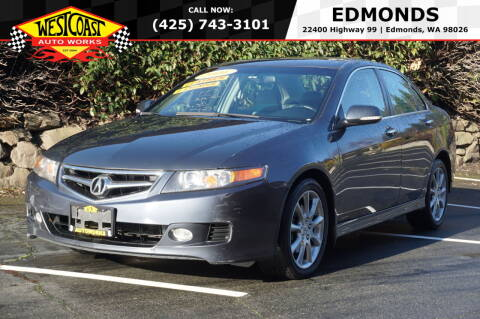 2006 Acura TSX for sale at West Coast Auto Works in Edmonds WA