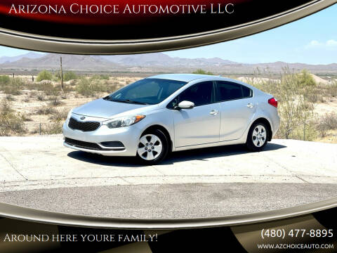 2015 Kia Forte for sale at Arizona Choice Automotive LLC in Mesa AZ