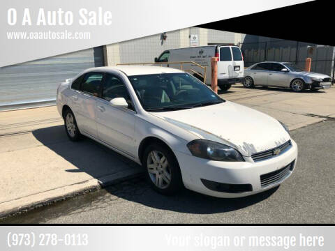 2006 Chevrolet Impala for sale at O A Auto Sale in Paterson NJ