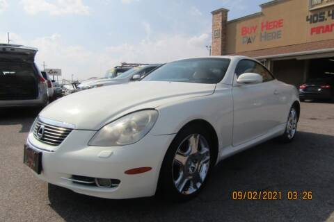 2006 Lexus SC 430 for sale at Import Motors in Bethany OK