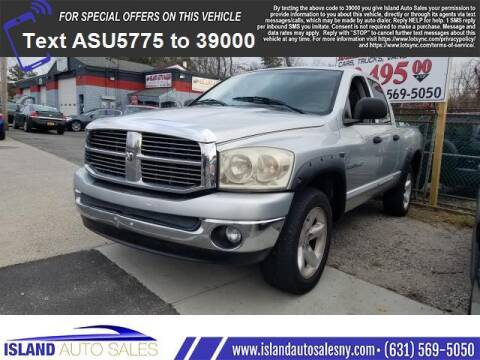 2006 Dodge Ram Pickup 1500 for sale at Island Auto Sales in E.Patchogue NY