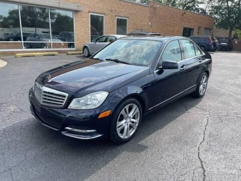 2012 Mercedes-Benz C-Class for sale at Auto Galaxy Inc in Grand Rapids MI