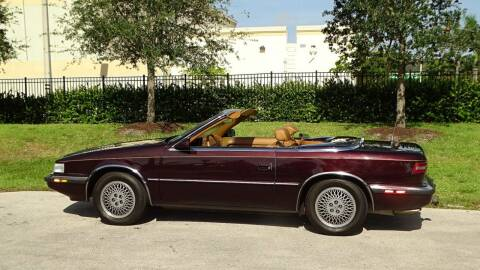 1989 Chrysler TC for sale at Premier Luxury Cars in Oakland Park FL