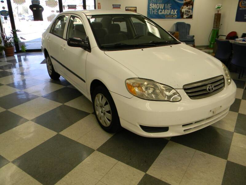 2003 Toyota Corolla for sale at Lindenwood Auto Center in St.Louis MO