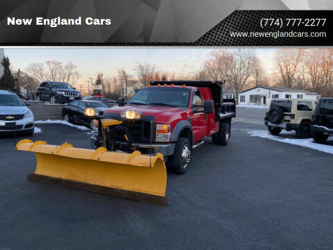 2008 Ford F-550 Super Duty for sale at New England Cars in Attleboro MA
