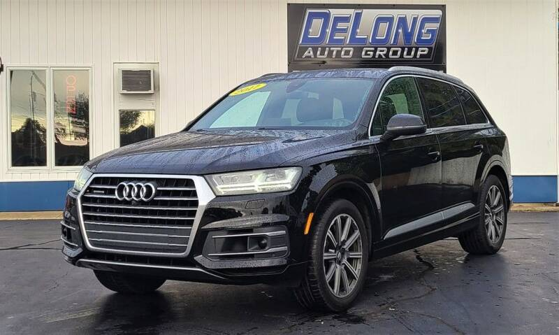 2017 Audi Q7 for sale at DeLong Auto Group in Tipton IN