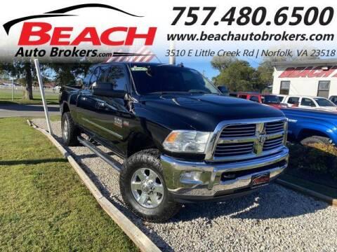 2014 RAM Ram Pickup 2500 for sale at Beach Auto Brokers in Norfolk VA