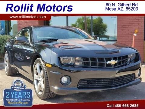 2011 Chevrolet Camaro for sale at Rollit Motors in Mesa AZ