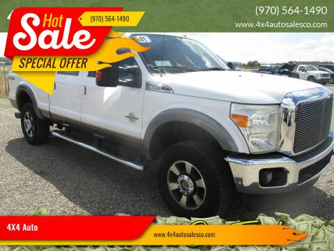 2011 Ford F-350 Super Duty for sale at 4X4 Auto in Cortez CO