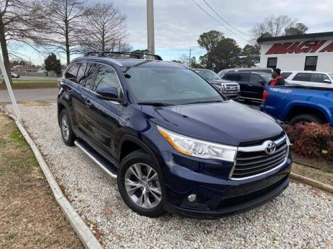 2014 Toyota Highlander for sale at Beach Auto Brokers in Norfolk VA