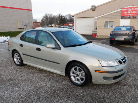 2005 Saab 9-3 for sale at Macrocar Sales Inc in Akron OH