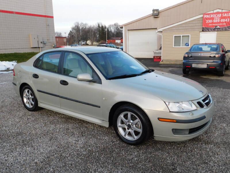 2005 Saab 9-3 for sale at Macrocar Sales Inc in Akron OH