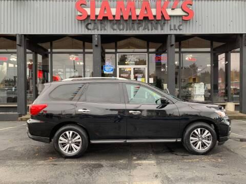 2017 Nissan Pathfinder for sale at Siamak's Car Company llc in Salem OR